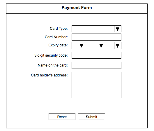 Payment system design